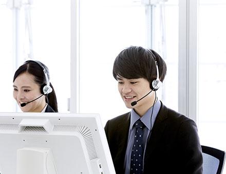 利用者へのヒアリングと発送情報確認のアウトバウンドコール